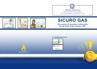 SICURO GAS - Corpo Nazionale dei Vigili del Fuoco