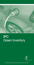 IPC Green Inventory - WIPO