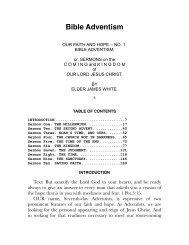 Bible Adventism.pdf - Centro White