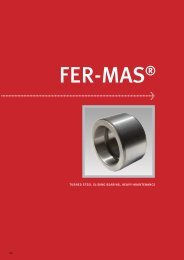 turned steel sliding bearing, heavy-maintenance - Industrial and ...