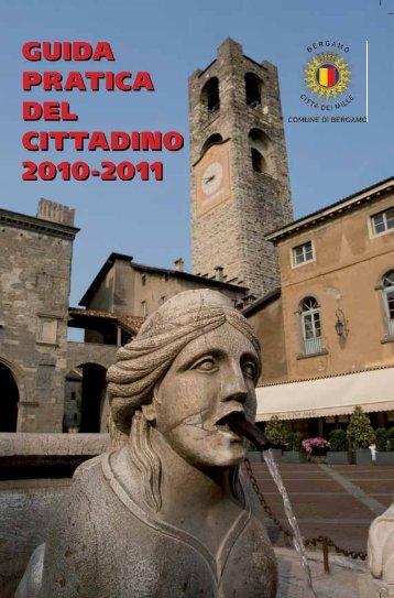 GUIDA PRATICA DEL CITTADINO 2010-2011 - Comune di Bergamo