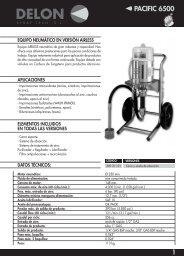 datos técnicos: aplicaciones equipo neumático en versión ... - Sagola