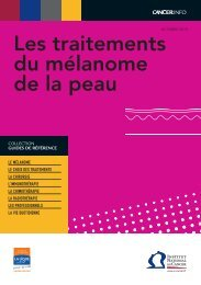 4 pages - Institut National Du Cancer