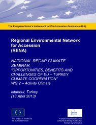 Regional Environmental Network for Accession (RENA)