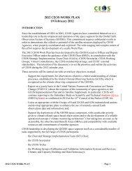 2012 CEOS WORK PLAN - WCRP