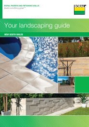 Your landscaping guide - Boral