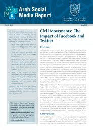 Arab Social Media Report - Dubai School of Government
