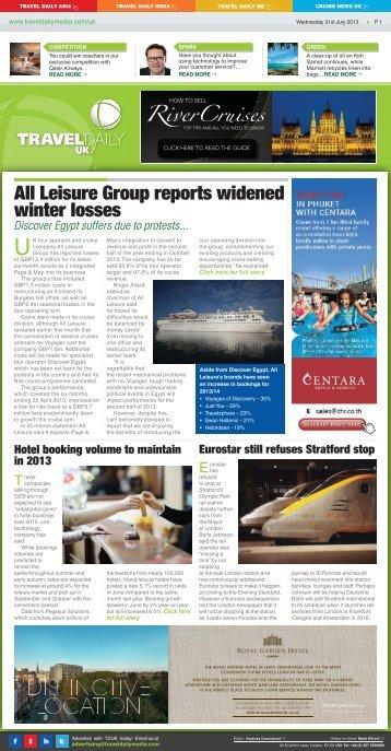 Wednesday 31st July 2013.indd - Travel Daily Media