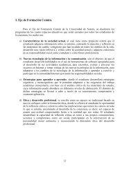 I. Eje de Formación Común. - Licenciatura en Física - Universidad ...