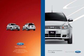 Manual Ford Ka - Oeste Autos