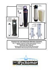 Commercial and Industrial Filtration Systems