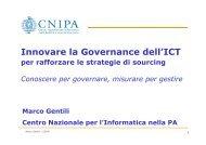 Disponibile il suo intervento (PDF) - Archivio CNIPA
