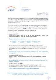Odpowiedzi na pytania wykonawców (pdf) - PGE