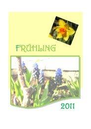 FRÜHLING 2011 - Kindergarten Diespeck
