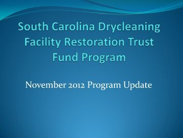presentation (PDF) - State Coalition for Remediation of Drycleaners