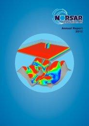 Annual Report 2012 - Norsar