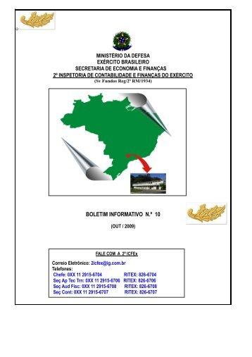 31 Out 09 - 2ª ICFEx - Exército Brasileiro
