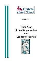 Draft Multi-Year Plan _Final-2 - Eastern School District