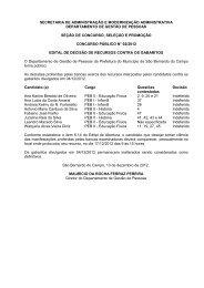 coordenadoria de recursos humanos - Prefeitura de São Bernardo ...