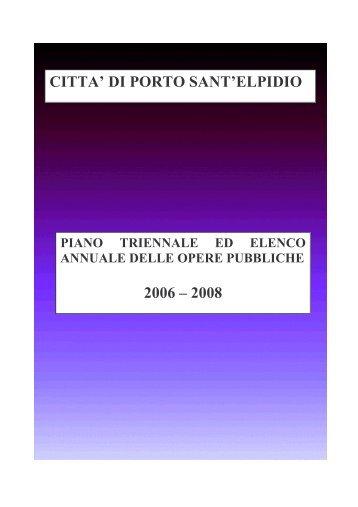 2006 LAVORI IN CORSO.FP3 - Comune di Porto Sant'Elpidio