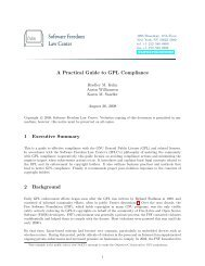 A Practical Guide to GPL Compliance