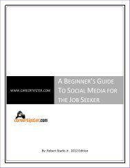 A Beginner's Guide To Social Media for the Job Seeker - UC Davis ...