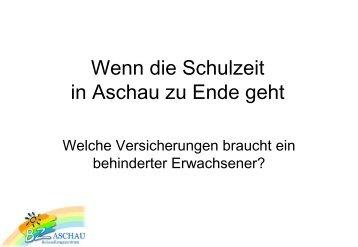 Wenn die Schulzeit in Aschau zu Ende geht - Elternbeirat am BZ ...