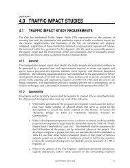 4.0 TRAFFIC IMPACT STUDIES - City of Auburn
