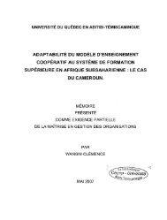 Adaptabilité du modèle d'enseignement coopératif au ... - DEPOSITUM