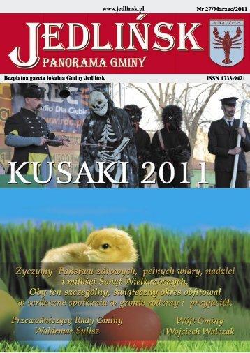 www.jedlinsk.pl Nr 27/Marzec/2011 - Jedlińsk, Urząd Gminy