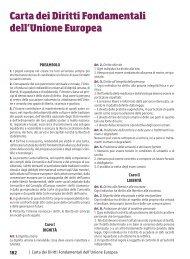 Carta dei Diritti Fondamentali dell'Unione Europea - Sei