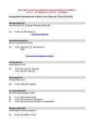Sie finden hier die Evangelischen Gottesdiensttermine in Mainz vom ...