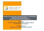Die Charta in Deutschland - End-Of-Life-Care