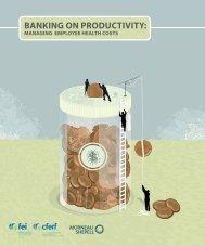 BANKING ON PRODUCTIVITY: - FEI Canada