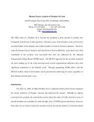 Human Factors Analysis of Predator B Crash Geoff Carrigan ... - MIT