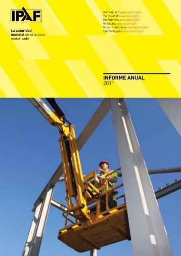 Informe AnUAL 2011 - IPAF