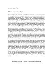 Hans Adolf Hertzler: Toleranz – eine umstrittene Tugend