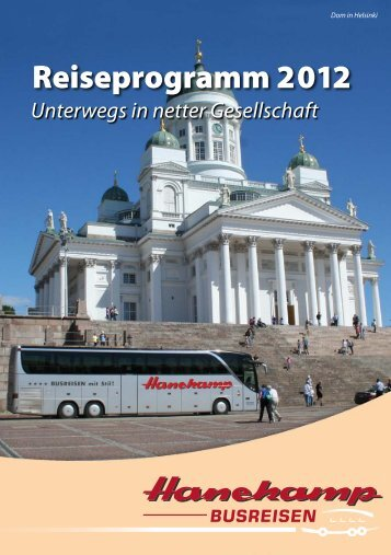 Reiseprogramm 2012