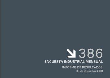 ENCUESTA INDUSTRIAL MENSUAL - Buenos Aires Ciudad
