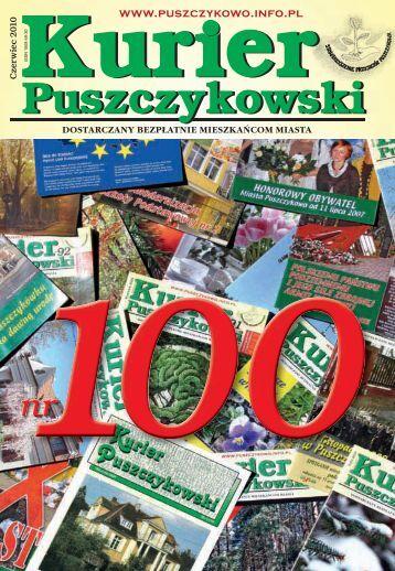 Kurier 100-fonty.indd - Stowarzyszenie Przyjaciół Puszczykowa
