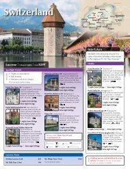 Switzerland - Avanti Destinations