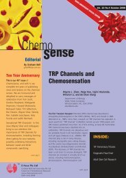 Article from ChemoSense Vol 10. October 2008 TRP channels and ...