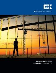 2010 CII Annual Report - Construction Industry Institute