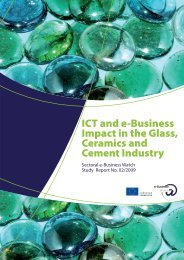 ICT and e-Business Impact in the Glass, Ceramics and ... - empirica