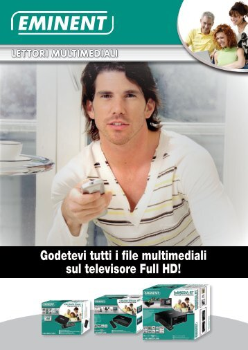 Godetevi tutti i file multimediali sul televisore Full HD! - Eminent