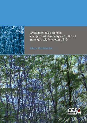 Evaluación del potencial energético de los bosques de Teruel ...