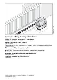 Руководство по монтажу - Hörmann