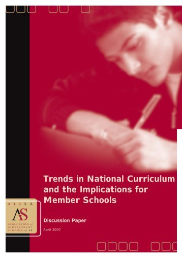 Trends In National Curriculum - Association of Independent Schools ...