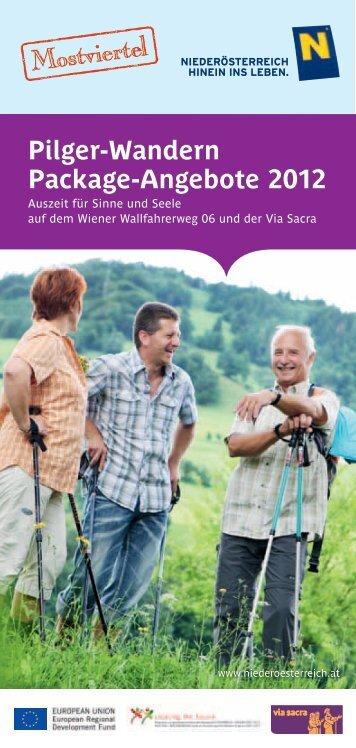 Pilger-Wandern Package-Angebote 2012 - Regionalverband ...