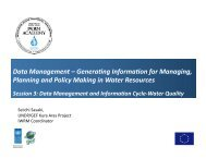 Data Management - Reducing Transboundary Degradation in the ...